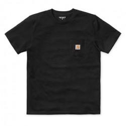T-shirt CARHARTT WIP Pocket Black