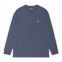 T-shirt CARHARTT WIP Chase Cold Viola Gold