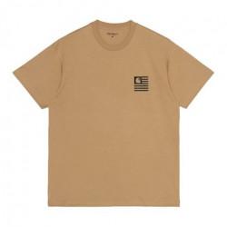 T-shirt CARHARTT WIP Fade State Dusty...
