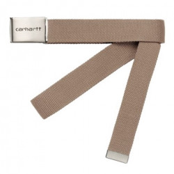 Ceinture CARHARTT WIP Clip Chrome Leather