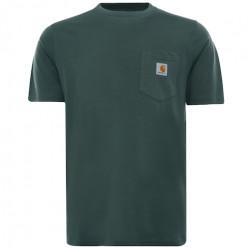 T-shirt CARHARTT WIP Pocket Eucalyptus