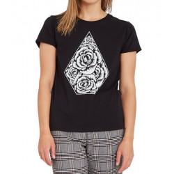 T-shirt Girl VOLCOM Radical Daze Black