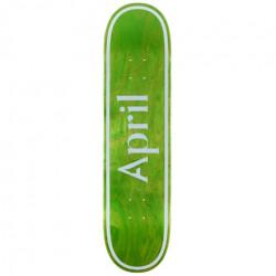 Skateboard APRIL Og Logo Invert Green