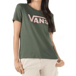 T-shirt Girl VANS Flying V Crew Thyme