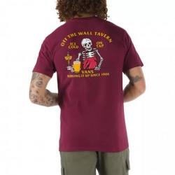 T-shirt VANS Off The Wall Tavern Burgundy