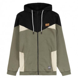 Sweat PICTURE Franky Zip Dusty Olive