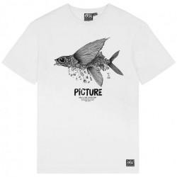T-shirt Girl PICTURE D&S Flying White