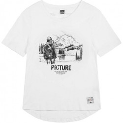 T-shirt Girl PICTURE D&S Doggy Bag White