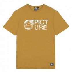 T-shirt Kid PICTURE Basement Dark Golden