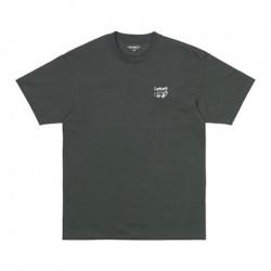 T-shirt CARHARTT WIP Screensaver Slate White
