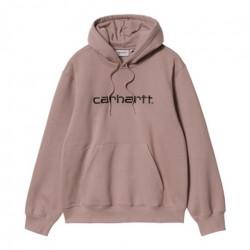 Sweat CARHARTT WIP Carhartt Earthy Pink Black