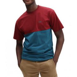 T-shirt VANS Colorblock Blue Coral...