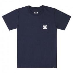 T-shirt Kid DC Star Pocket Navy Blazer