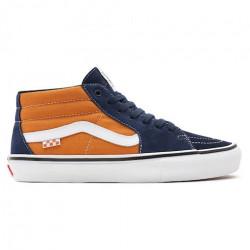 Chaussure VANS Skate Grosso Mid Navy Orange