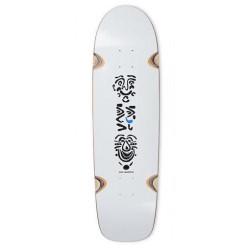 Skateboard POLAR Faces Sanbongi White 8,25