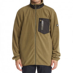 Sweat DC Rogue Polaire Ivy Green