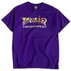T-shirt THRASHER Fillmore Logo Purple