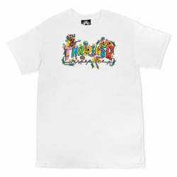 T-shirt THRASHER Devils Music White