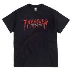 T-shirt THRASHER Blood Drip Black