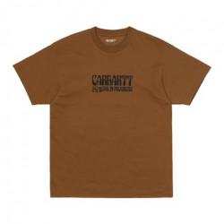 T-shirt CARHARTT WIP Removals Tawny Black
