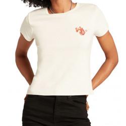 T-shirt Girl VOLCOM Harley & J Cloud