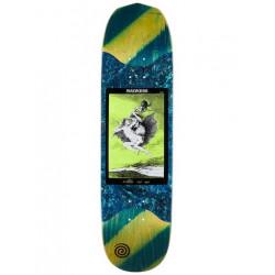 Skateboard MADNESS Alla Slick Yellow Green...