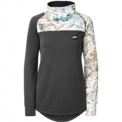 Sweat Midlayer Girl PICTURE Blossom Grid...