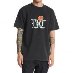 T-shirt DC Chrome Rose Black Acid