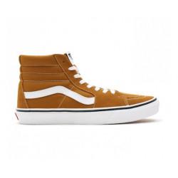 Chaussure VANS SK8-HI Golden Brown True White