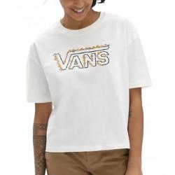 T-shirt Girl VANS Trippy Graden Marshmallow