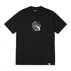 T-shirt CARHARTT WIP Harp Black White