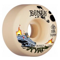 Roues BONES STF V4 Ryan Crash & Burn 99A 54mm