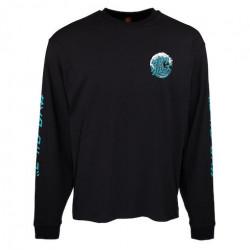 T-shirt SANTA CRUZ Japanese Wave Dot Black