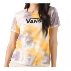 T-shirt Girl VANS Interrupt Crew Purple Dove