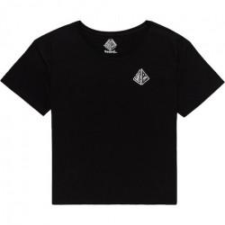 T-shirt Girl ELEMENT Elliptical Flint Black