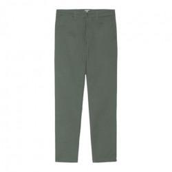 Pantalon CARHARTT WIP Sid Thyme Rinsed