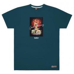 T-shirt JACKER Fancy Shooting Dark Teal