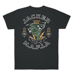 T-shirt JACKER Storm Dark Grey