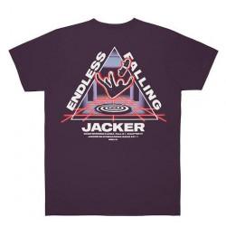 T-shirt JACKER Endless Falling Purple