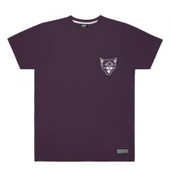 T-shirt JACKER Black Cats Purple