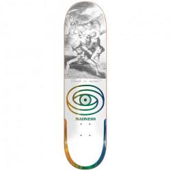 Skateboard MADNESS Donde R7 White 8,5