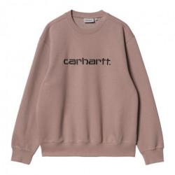 Pull CARHARTT WIP Carhartt Earthy Pink Black