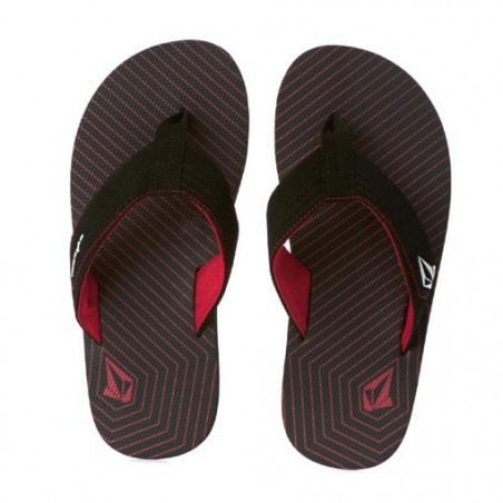 Tong VOLCOM Vocation Black Red