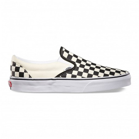 Chaussure VANS Slip-on Black Checker White