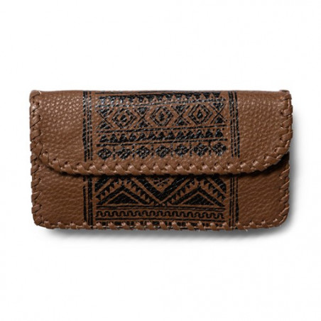 Porte-feuille Girl VOLCOM Vaquera Brown