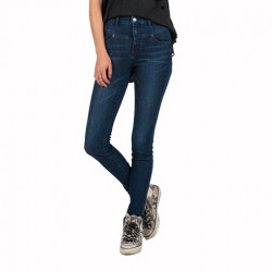 Jean Girl VOLCOM High&waisted Skinny Double Down Indigo