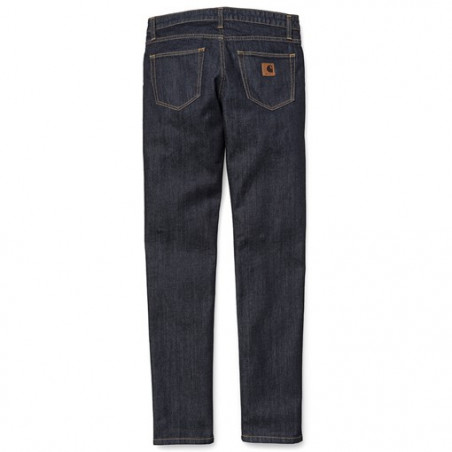 Jean Girl CARHARTT WIP X Rebel 2 Blue Rinsed