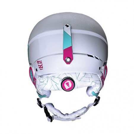 Casque Girl PICTURE Hubber 2 White