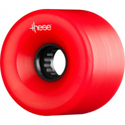 Roues Longboard THESE ATF Centerset 66MM 80A Red