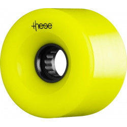 Roues Longboard THESE ATF Centerset 66MM 82A Yellow